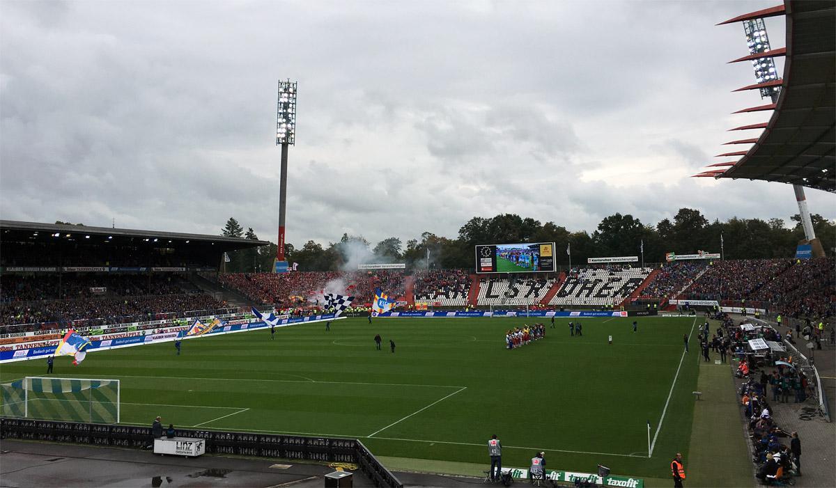 Bild: KSC vs SC Freiburg