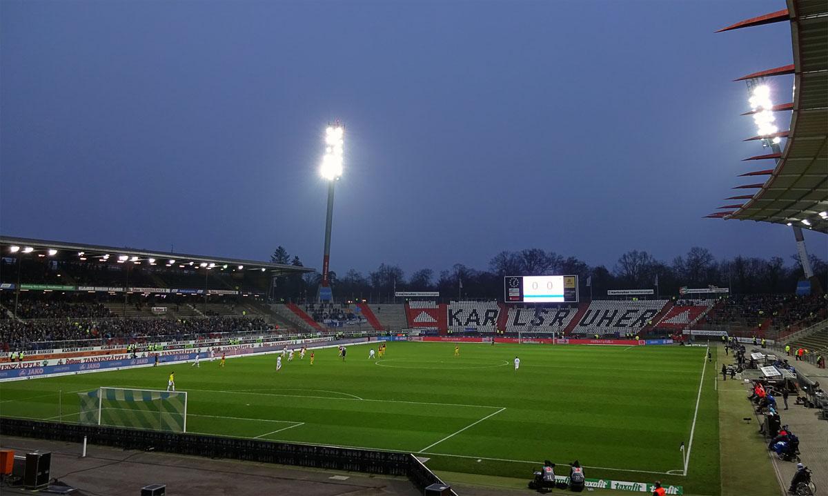 Karlsruher SC vs SC Paderborn 0:0