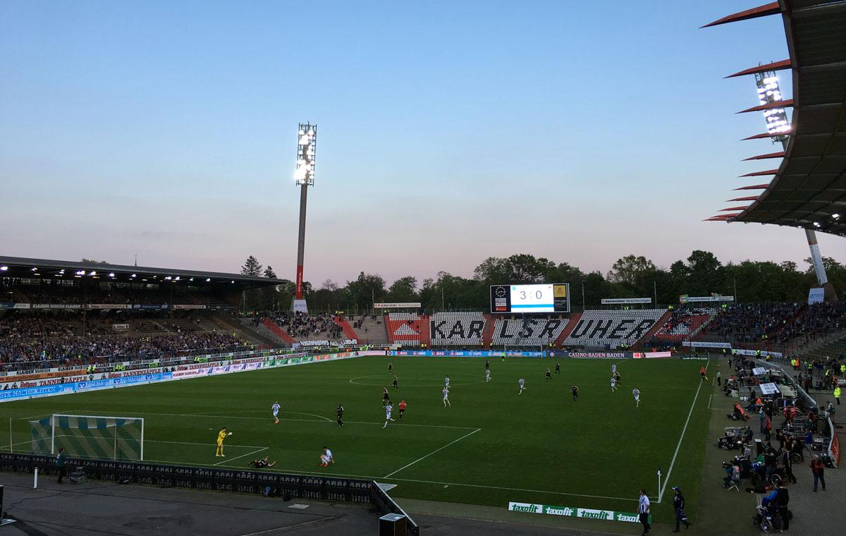 KSC vs SV Sandhausen 3:0