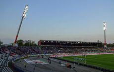 KSC vs SV Sandhausen, Siegesfeier unter dem badischen Abendhimmel