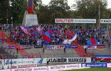 Ca. 400 Uerdingen-Fans waren dabei…