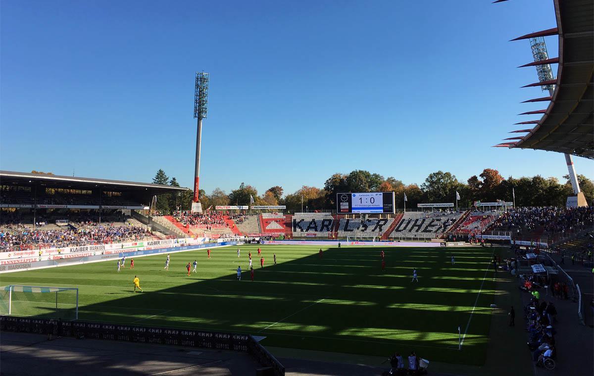 KSC vs Würzburger Kickers 2:0 (Ein Foto mit »2:0« gibt es leider nicht…)