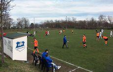 Der Abpfiff des letzten Spiels »vor Corona« bei der DJK Mühlburg am 8. März war auch der Abpfiff der Saison…