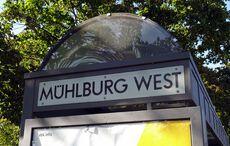 Draußen in Mühlburg…