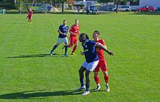 Neuzugang Aboubacar Bakayoko spielte eine starke Partie im Angriff…