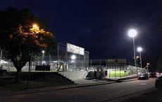 Der Sportplatz…