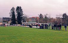 Etwa 150 Zusehende beim Kreisliga-Derby…
