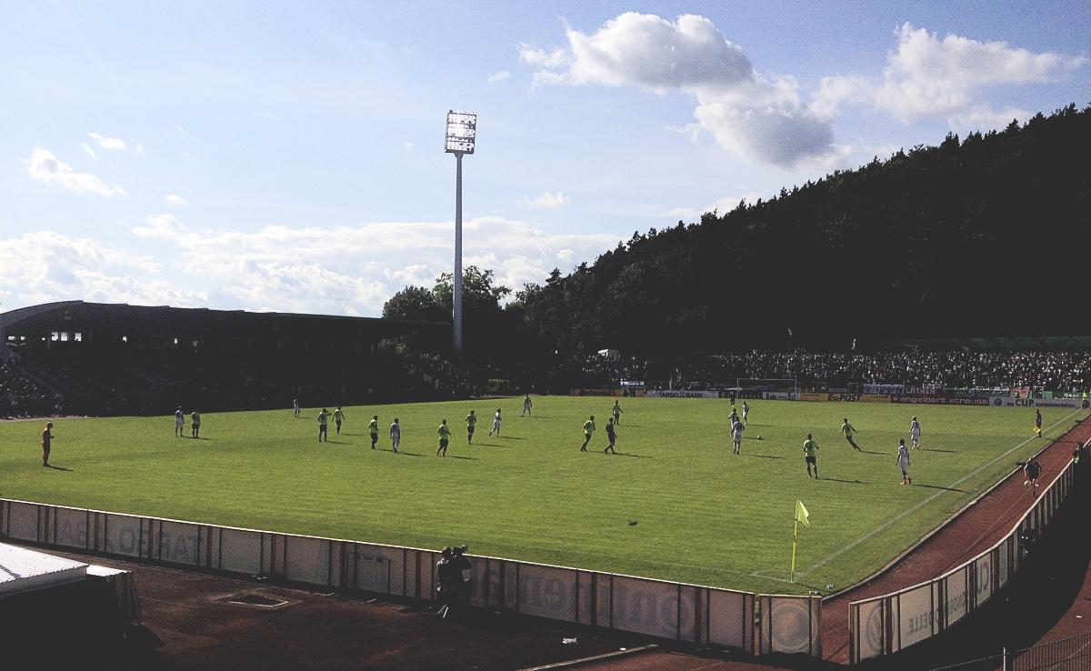 DFB-Pokal 2014/15, 1. Runde: FC Homburg - Borussia 1:3