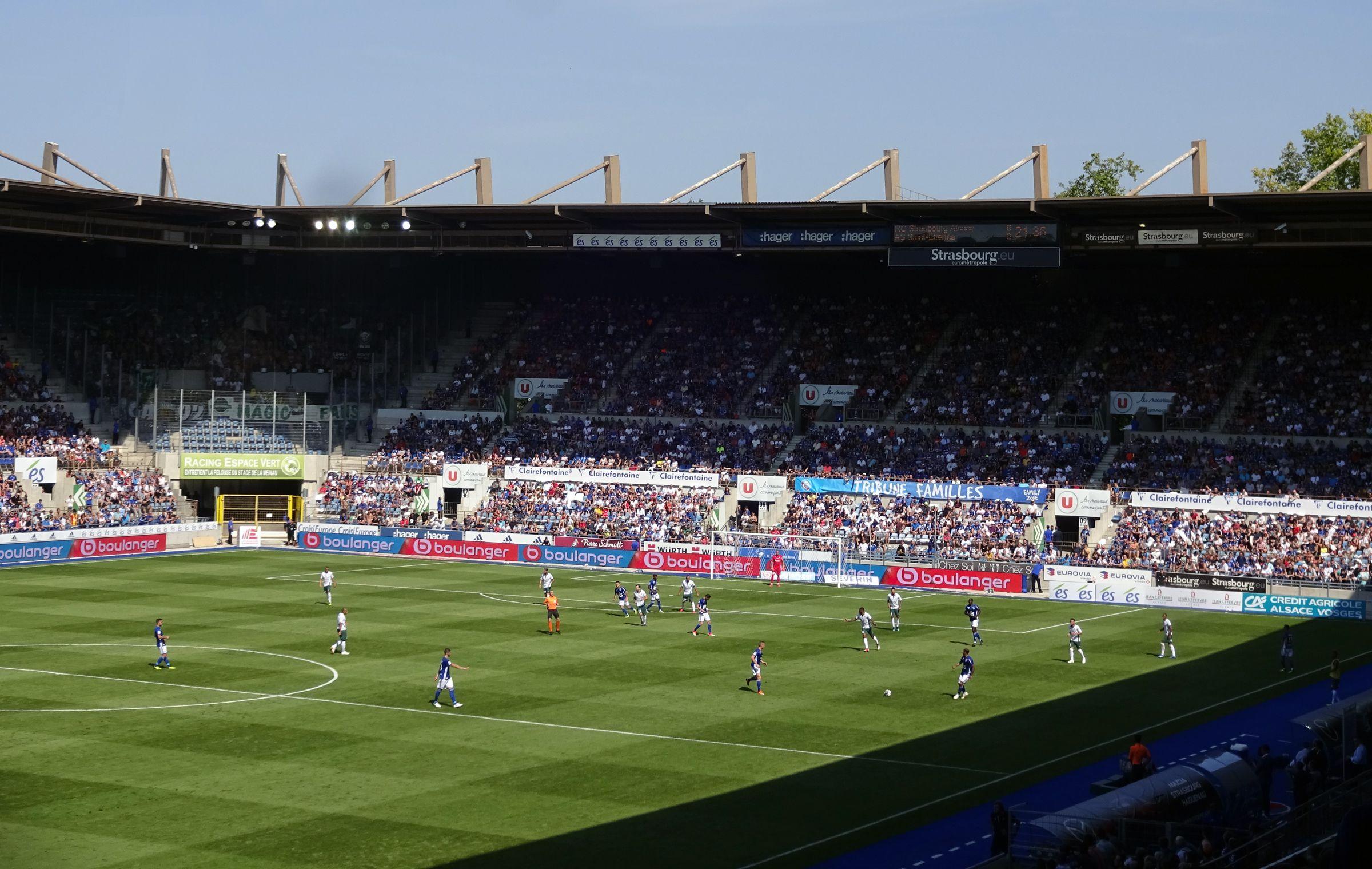 Sonnenschein und Fußball…