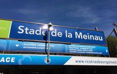 Stade de la Meinau und der Sommerhimmel…