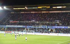 Den »Fanszenen«-Mitteilungsdrang mittels Banner gibt es auch in der Ligue 2…