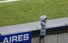 Eine drehbare Kamera die die Blöcke überwacht…