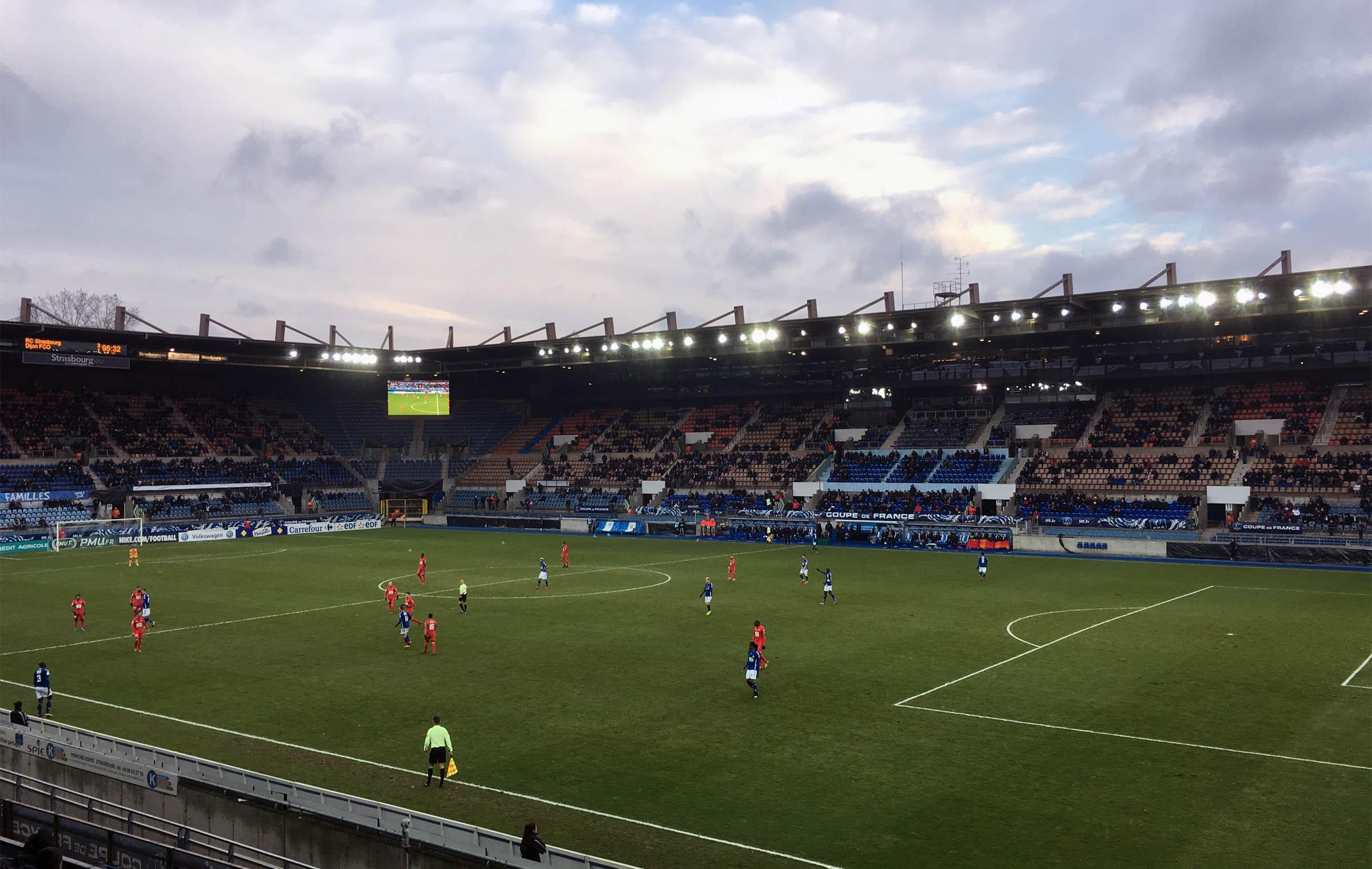 Racing Club de Strasbourg vs Dijon FCO 3:2 n.V.