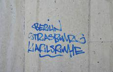 »Berlin Strasbourg Karlsruhe«