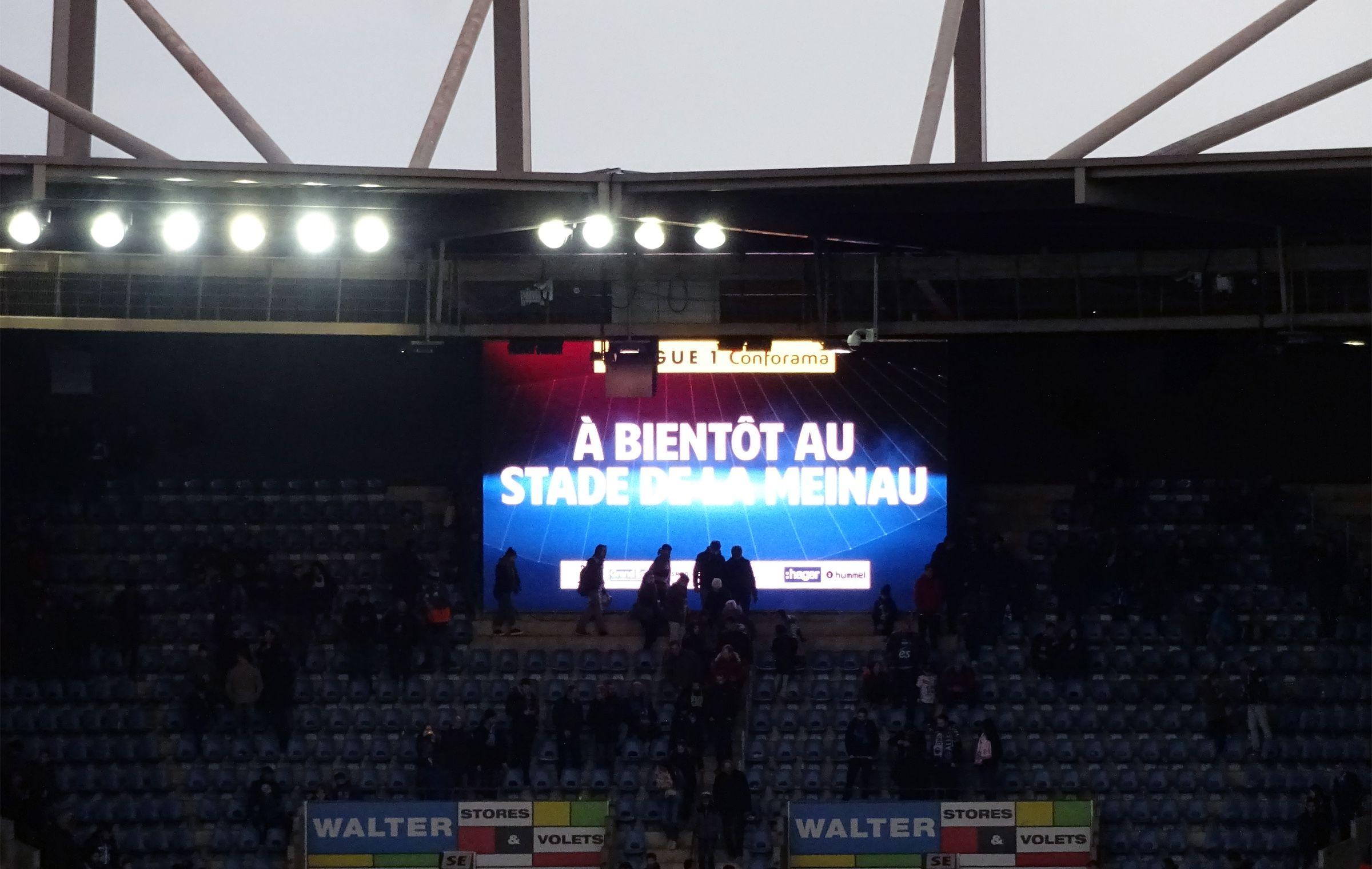 À bientôt au Stade de la Meinau!