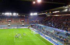 Racing Strasbourg vs Red Star FC 0:0 - Applaus nach dem Spiel.