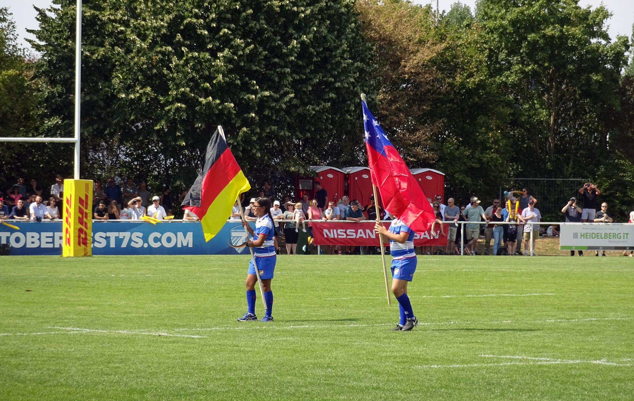 Deutschland vs Samoa