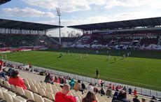 Regionalligafußball im Sonnenschein…