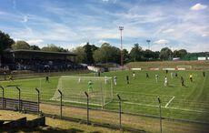 Das altehrwürdige Stadion des Rheydter SV…