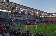 Red Bull Arena vor dem Spiel…