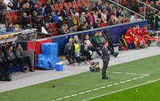Brendan Rodgers und seine Bank sahen das Ende mit Grausen…