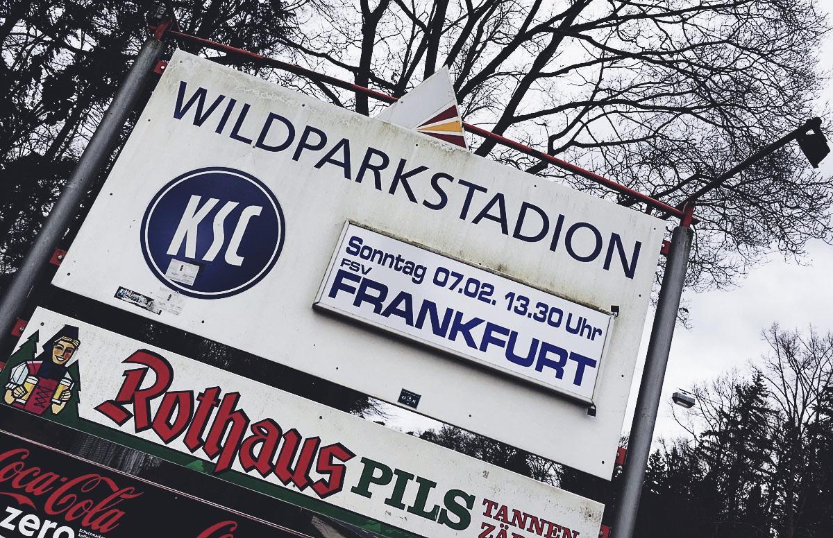 Es geht wieder los: Ankündigung KSC vs FSV Frankfurt