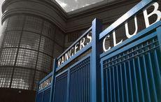 Ibrox Park, das Stadion der Rangers. Bild: »ibrox gates« von Whitey1982, Wikimedia Commons, CC BY-SA 4.0