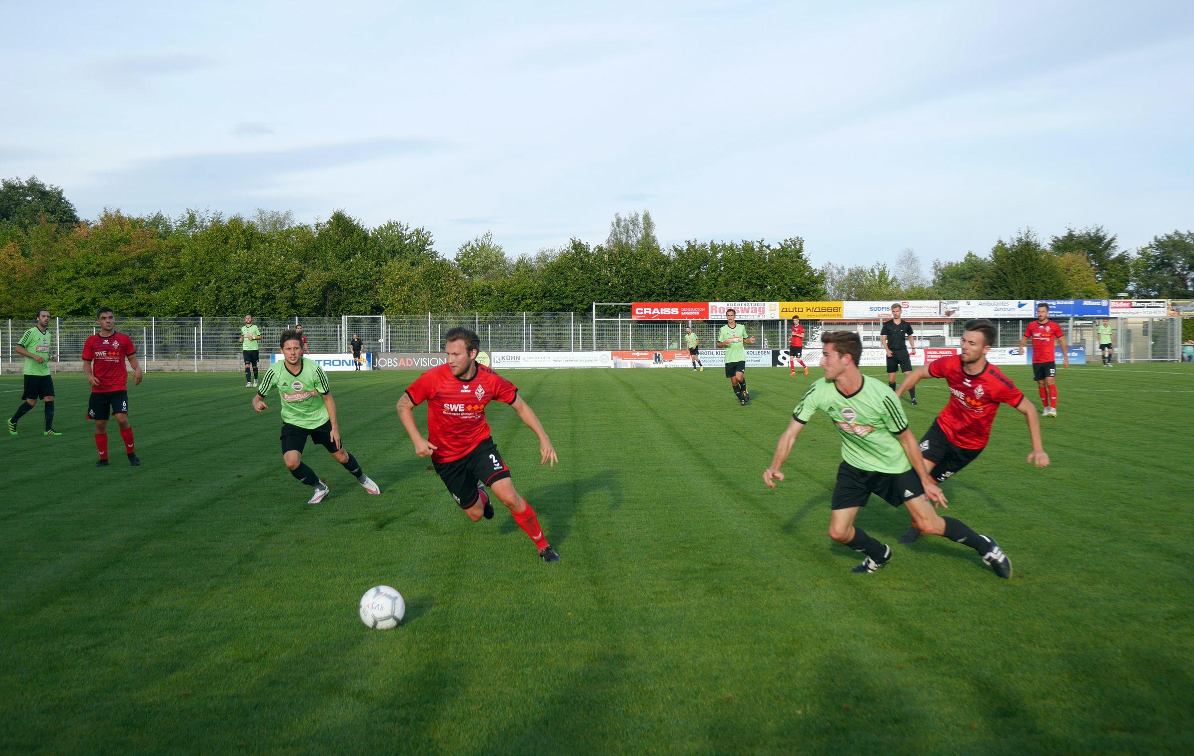 SV Spielberg vs FC Germania Friedrichstal 2:1