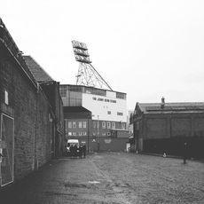 Blick auf Tannadice Park, Dundee United, Januar 2015