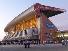 Nuevo Colombino Stadium. Huelva, Spain. By Calapito on Wikimedia Commons, CC-BY 3.0