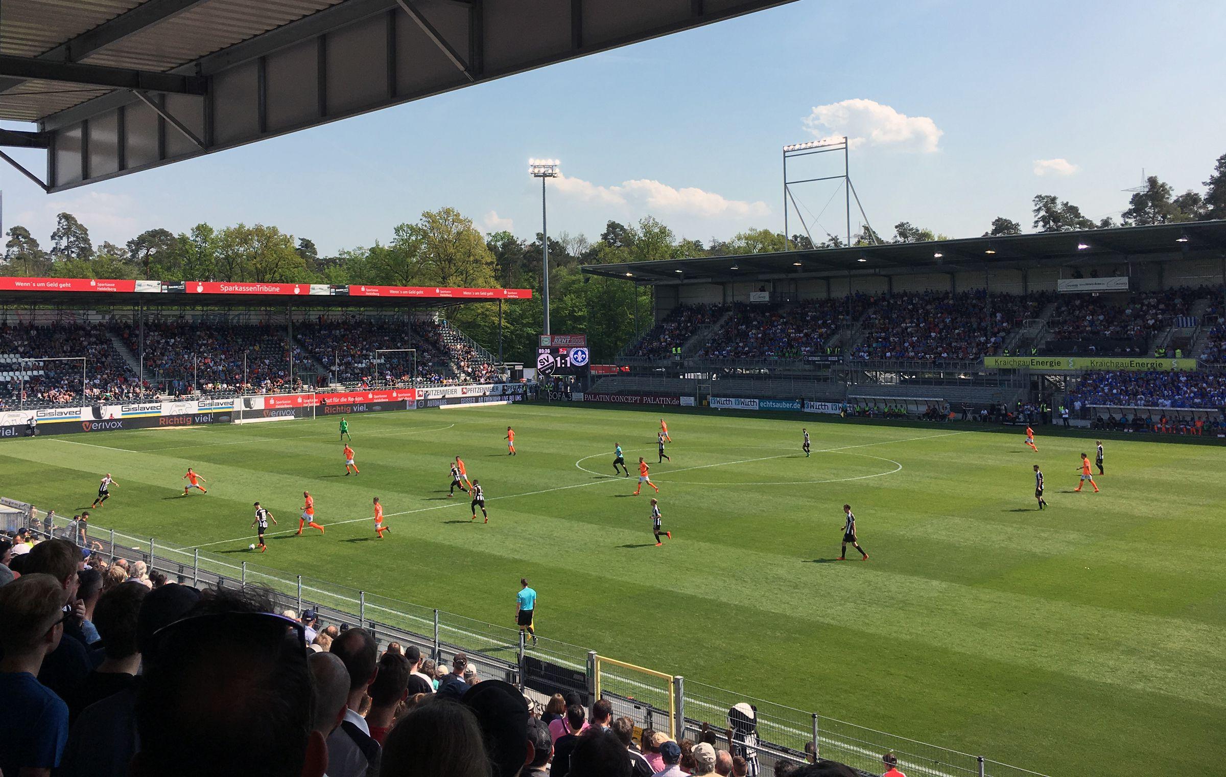 SV Sandhausen vs Darmstadt 98 1:1