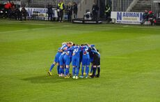 The Huddle der Heidenheimer…