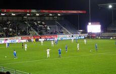 Heidenheim drängte mit zunehmender Dauer des Spiels auf die Führung…