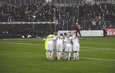 The Huddle praktiziert man auch in Sandhausen
