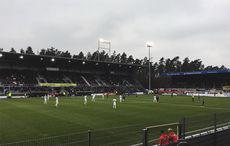 SV Sandhausen vs FC St. Pauli 0:2, Anstoß.