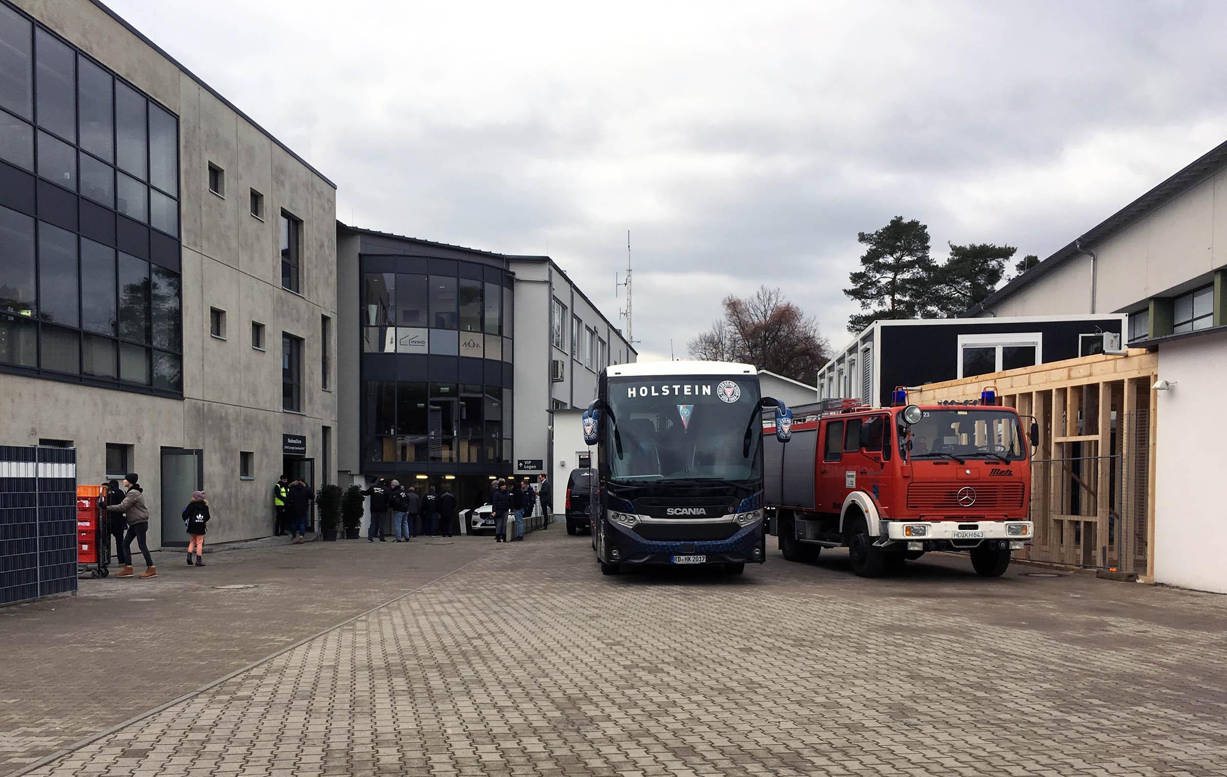 Holstein und die Feuerwehr…