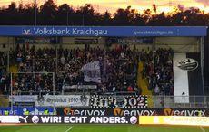 Nichts zu Jubeln für Sandhausens Fans…