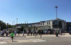 Nach 538 Tagen: Hallo Hardtwaldstadion!