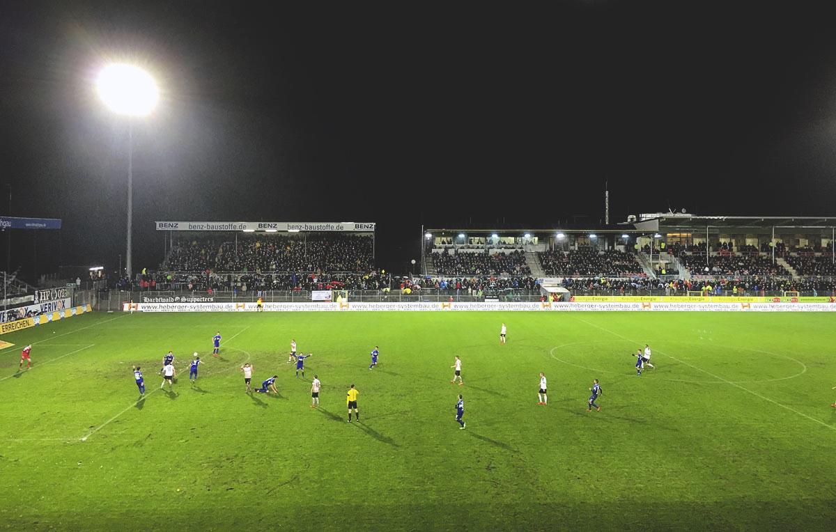 Bild: SV Sandhausen vs KSC 3:1