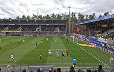 Es gab ein lebhaftes Match zu sehen…