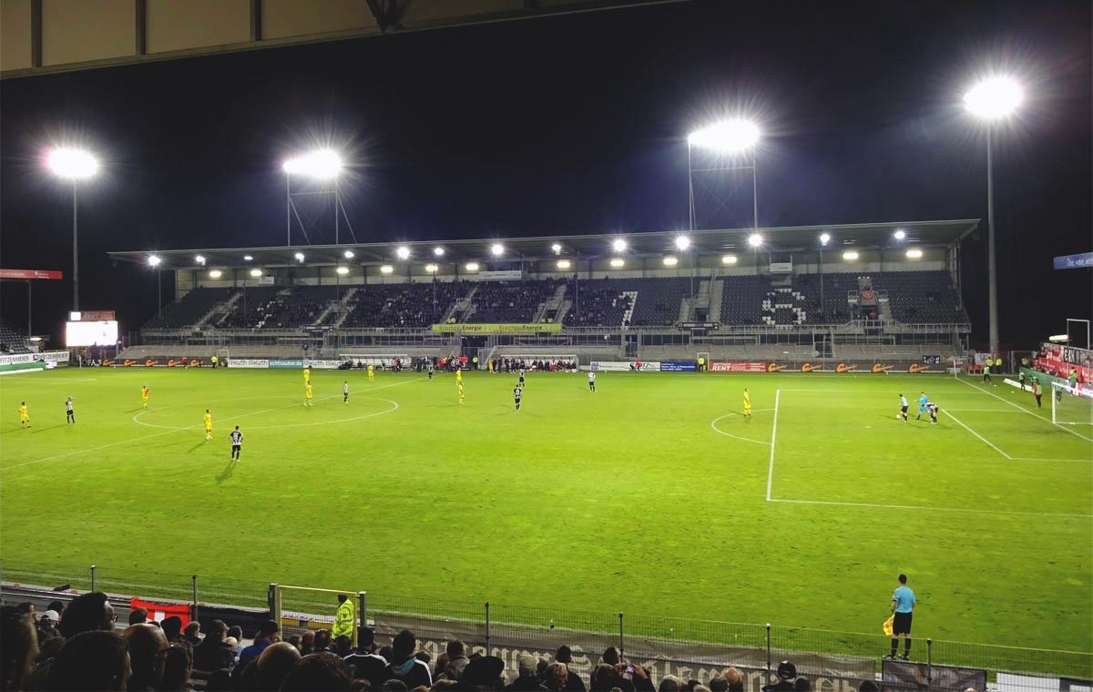 Endstand: SV Sandhausen vs 1.FC Union Berlin 1:0