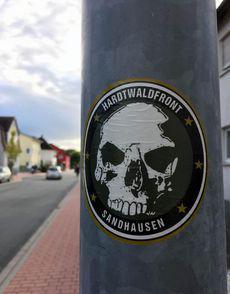 »Hardtwaldfront« auf leeren Straßen…