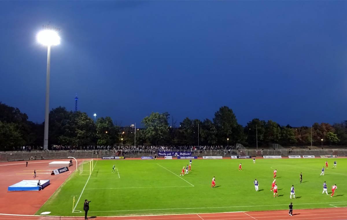 Tennis Borussia Berlin vs SV Lichtenberg 47 1:1
