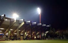 Grotenburg-Stadion Uerdingen nach dem Spiel