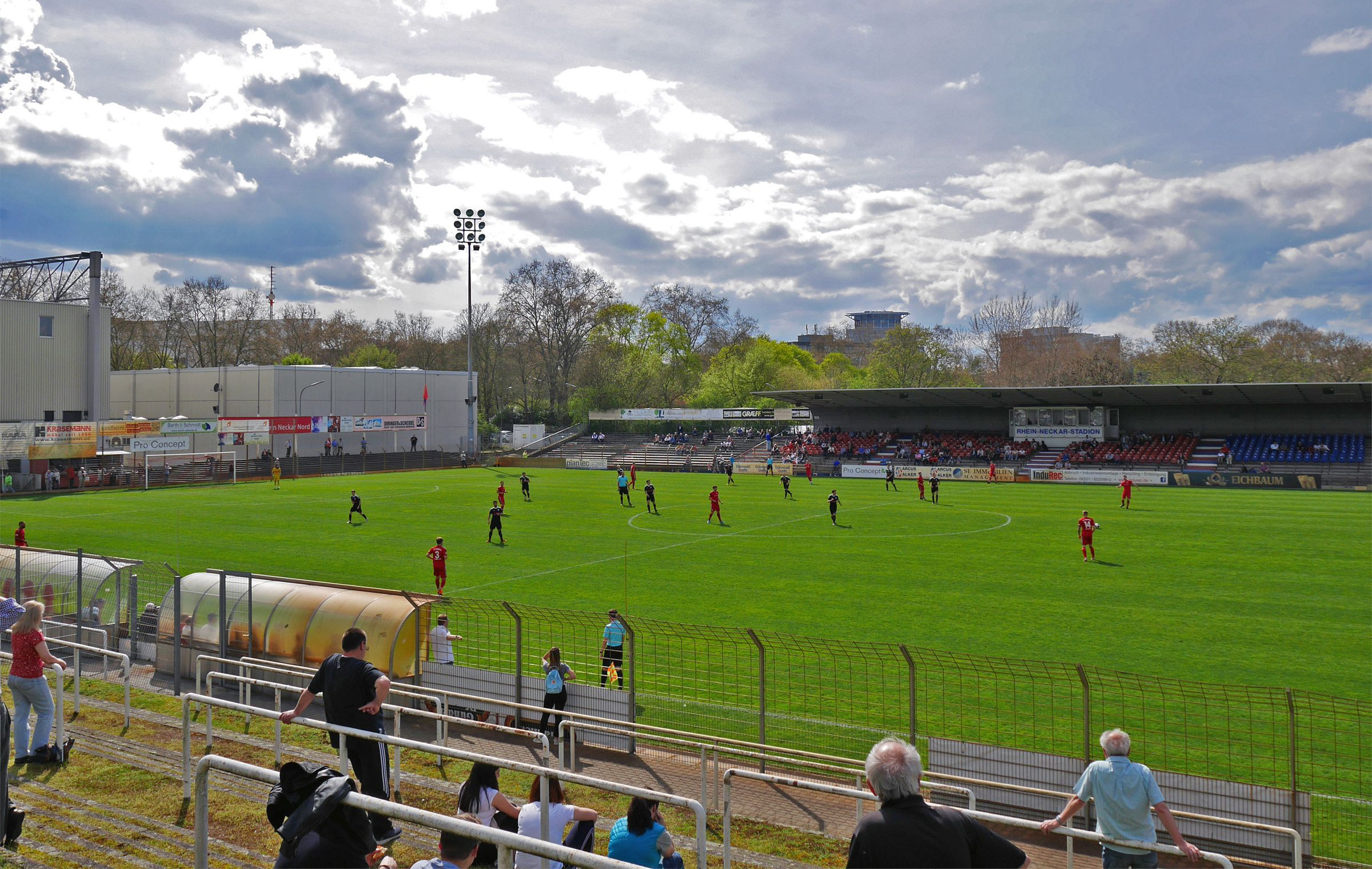 VfR Mannheim vs FC Germania Friedrichstal 0:2