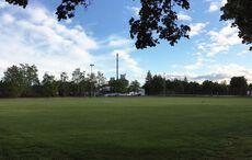 Noch immer leere Sportplätze (hier bei der DJK Mühlburg)