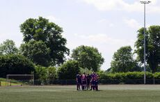 The Huddle beim OSV Meerbusch…