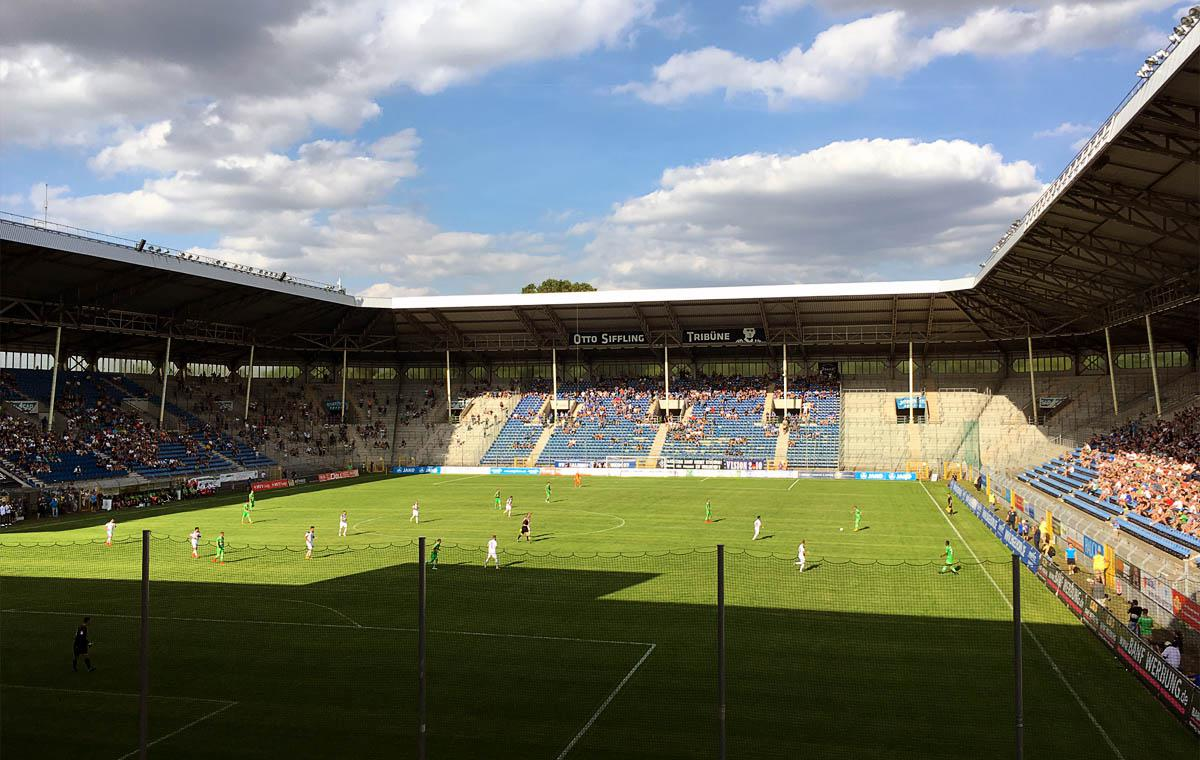 Foto aus dem Stadion