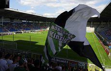 Waldhof vs Borussia – Gute Stimmung bei den Borussia-Fans