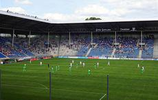 Waldhof vs Borussia – Anstoß
